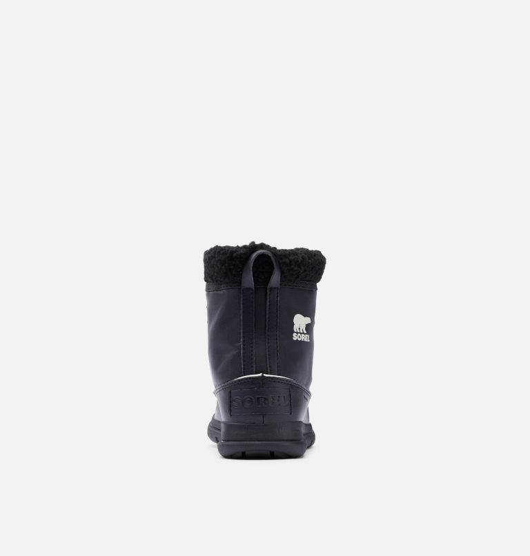 SOREL™ EXPLORER CARNIVAL | 010 | 5.5 Bota Sorel™ Explorer Carnival para mujer, Black, Sea Salt, back