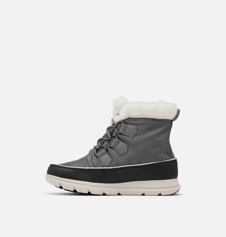 SOREL™ EXPLORER CARNIVAL | 052 | 6.5 Women's Sorel™ Explorer Carnival Boot, Quarry, medial