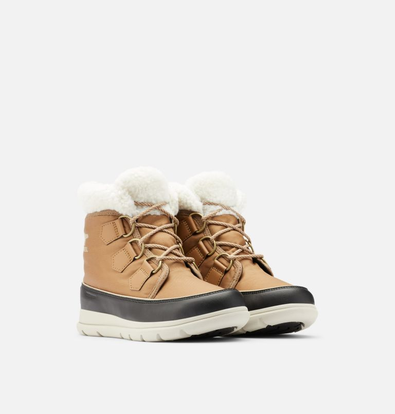 SOREL™ EXPLORER CARNIVAL | 286 | 8 Women's Sorel™ Explorer Carnival Boot, Elk, 3/4 front
