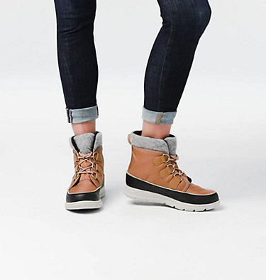 Women's SOREL™ Explorer Carnival Boot SOREL™ EXPLORER CARNIVAL | 920 | 5, Elk, video