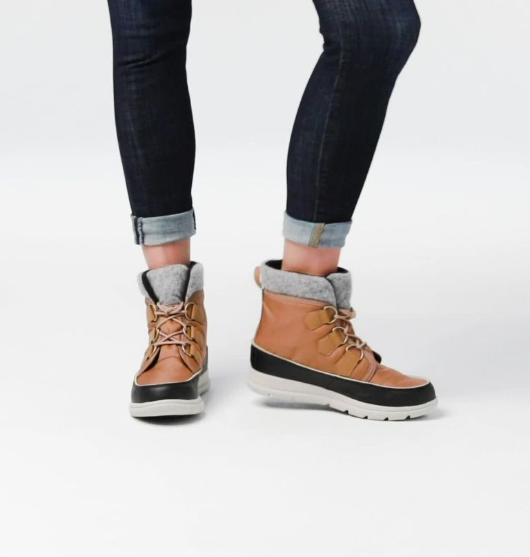 SOREL™ EXPLORER CARNIVAL | 286 | 6 Botte Sorel™ Explorer Carnival femme, Elk, video