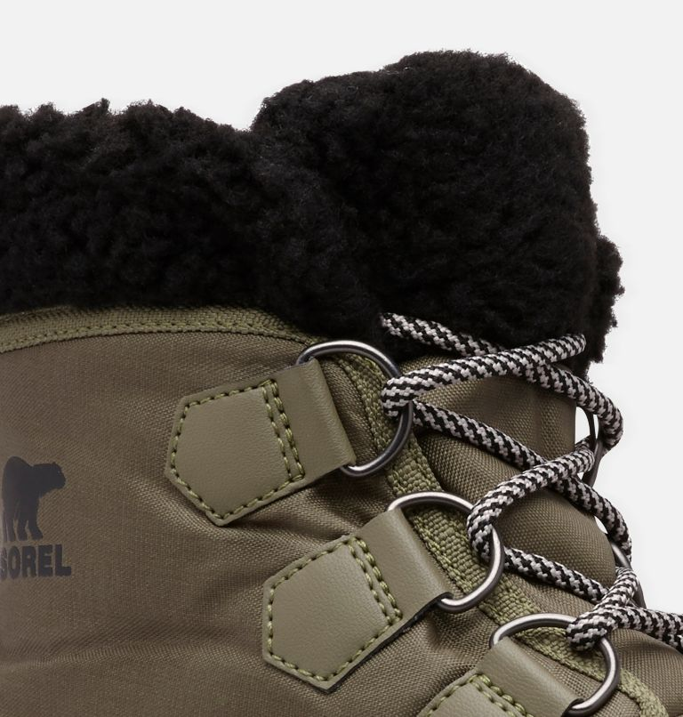 SOREL™ EXPLORER CARNIVAL | 371 | 5 Women's SOREL™ Explorer Carnival Boot, Hiker Green, Black, a1