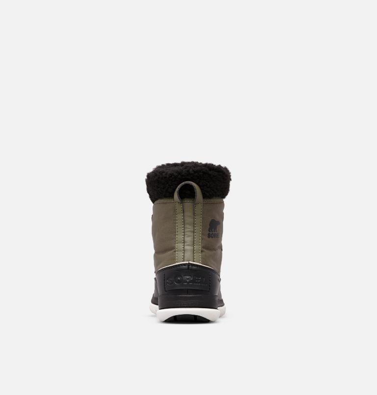 SOREL™ EXPLORER CARNIVAL | 371 | 5 Women's Sorel™ Explorer Carnival Boot, Hiker Green, Black, back