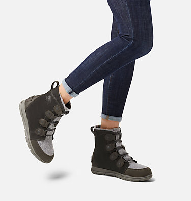 Women's SOREL™ Explorer Joan Boot SOREL™ EXPLORER JOAN | 048 | 6, Coal, video
