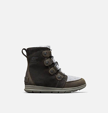 Women's SOREL™ Explorer Joan Boot SOREL™ EXPLORER JOAN | 282 | 7, Coal, front