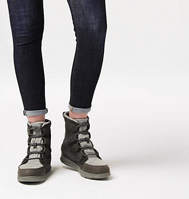 Sorel™ Explorer Joan Stiefel für Frauen SOREL™ EXPLORER JOAN | 282 | 11, Coal, video