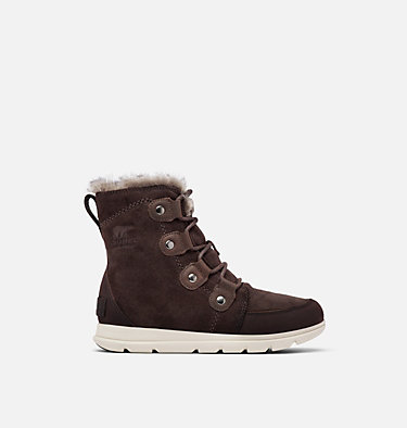 Bota Sorel™ Explorer Joan para mujer SOREL™ EXPLORER JOAN | 052 | 10, Blackened Brown, front
