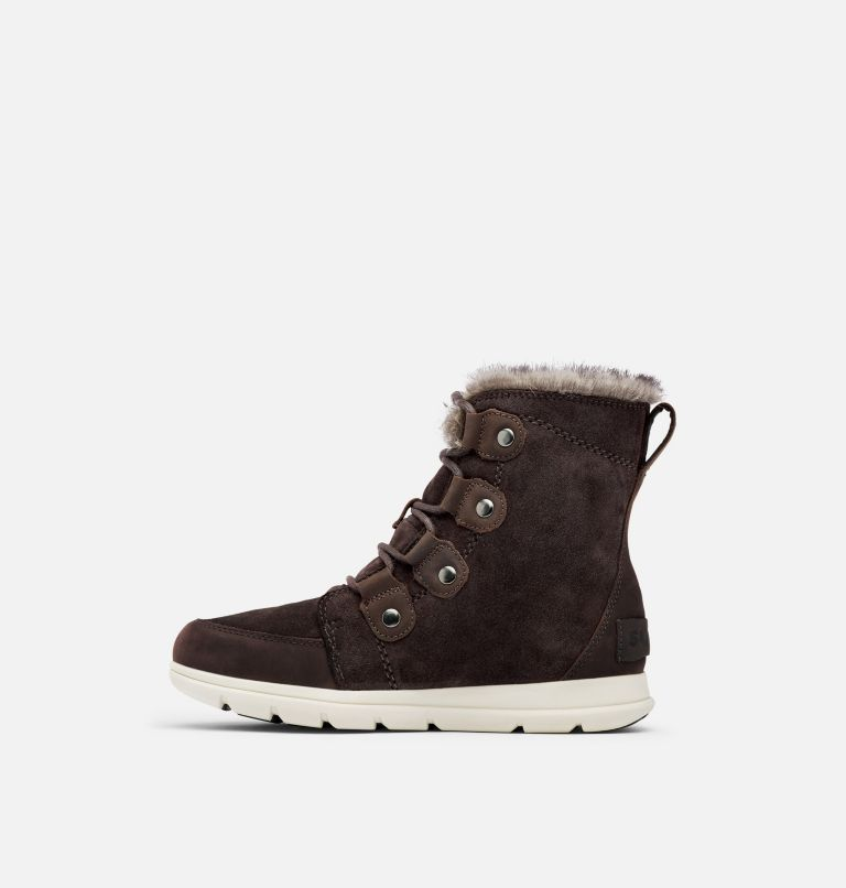 SOREL™ EXPLORER JOAN | 205 | 6.5 Women's Sorel Explorer™ Joan Boot, Blackened Brown, medial