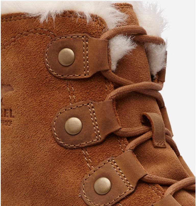 SOREL™ EXPLORER JOAN | 224 | 6.5 Women's SOREL™ Explorer Joan Boot, Camel Brown, Ancient Fossil, a1
