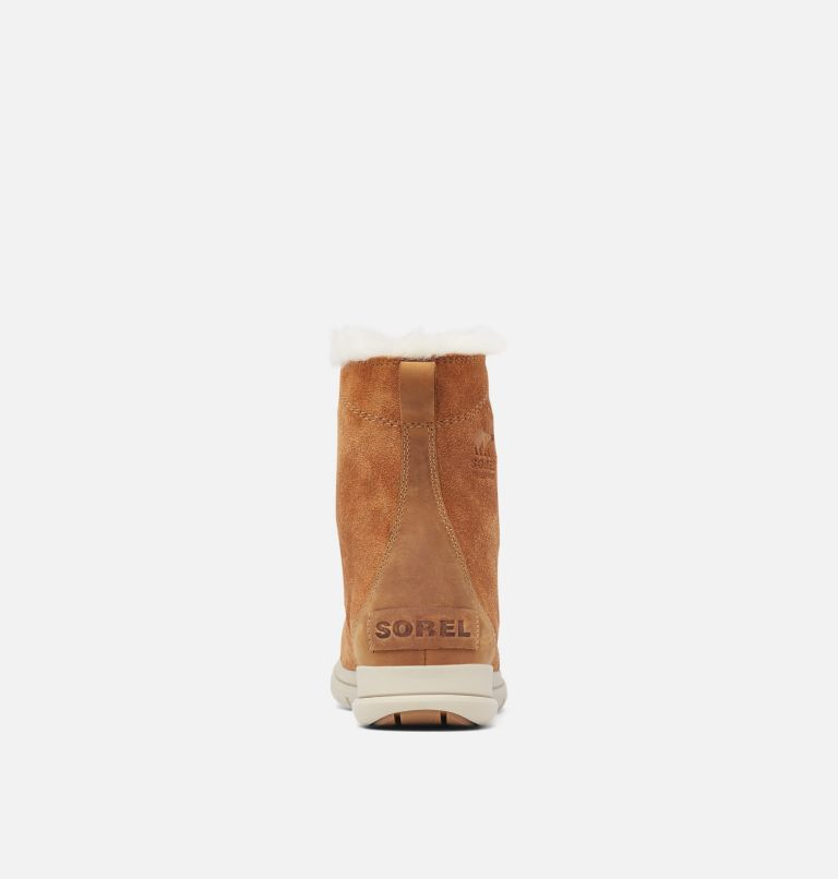 SOREL™ EXPLORER JOAN | 224 | 6.5 Women's SOREL™ Explorer Joan Boot, Camel Brown, Ancient Fossil, back