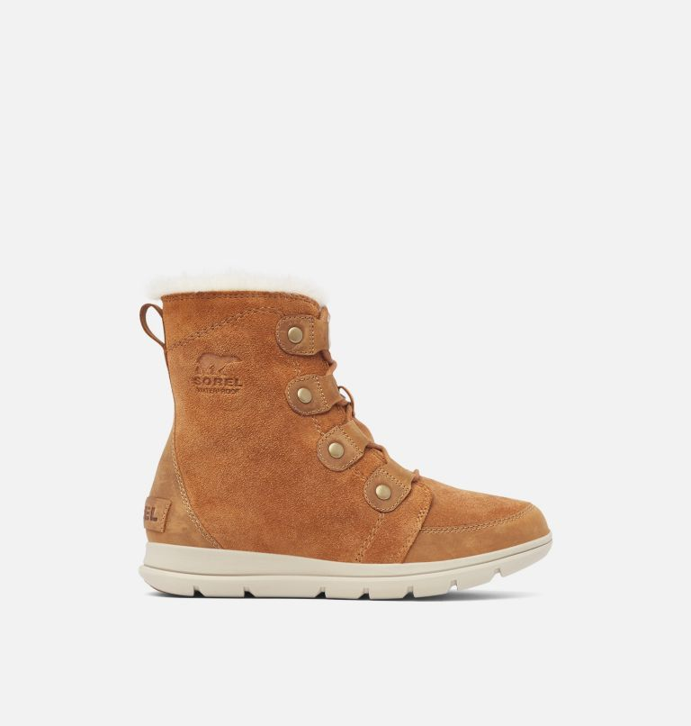 SOREL™ EXPLORER JOAN | 224 | 6.5 Women's SOREL™ Explorer Joan Boot, Camel Brown, Ancient Fossil, front