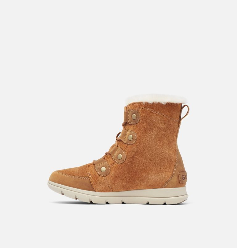 SOREL™ EXPLORER JOAN | 224 | 6.5 Women's SOREL™ Explorer Joan Boot, Camel Brown, Ancient Fossil, medial
