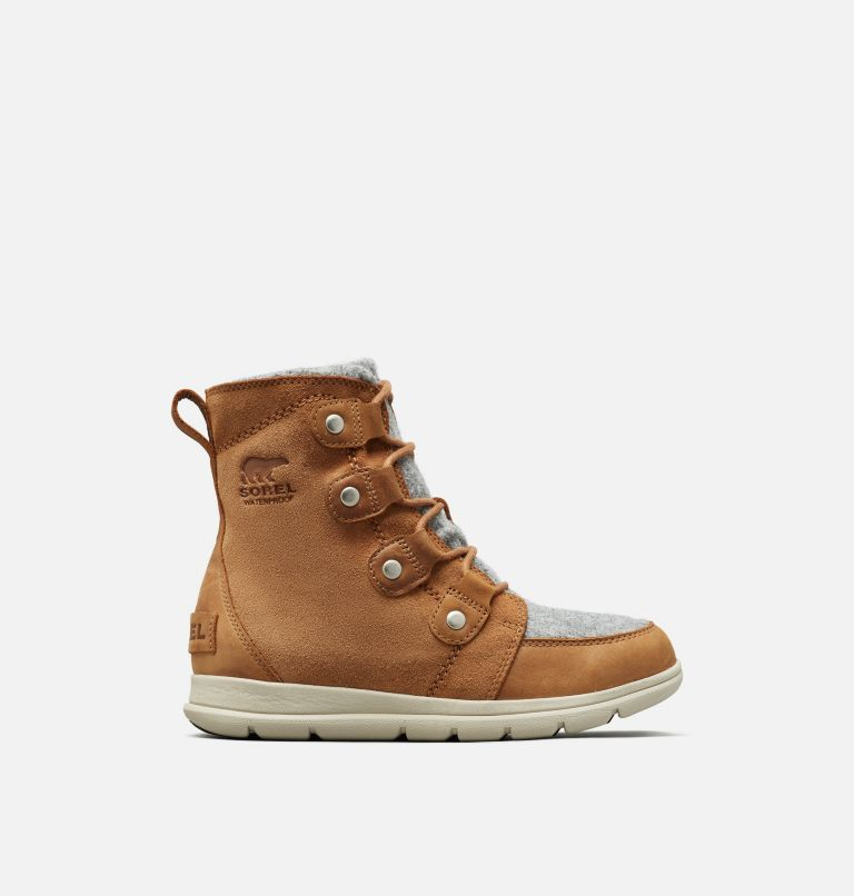 SOREL™ EXPLORER JOAN | 224 | 5 Women's Sorel Explorer™ Joan Boot, Camel Brown, front