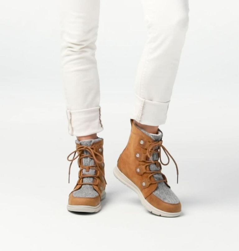 SOREL™ EXPLORER JOAN | 224 | 5.5 Women's Sorel Explorer™ Joan Boot, Camel Brown, video