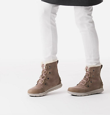 Women's SOREL™ Explorer Joan Boot SOREL™ EXPLORER JOAN | 282 | 11, Ash Brown, video