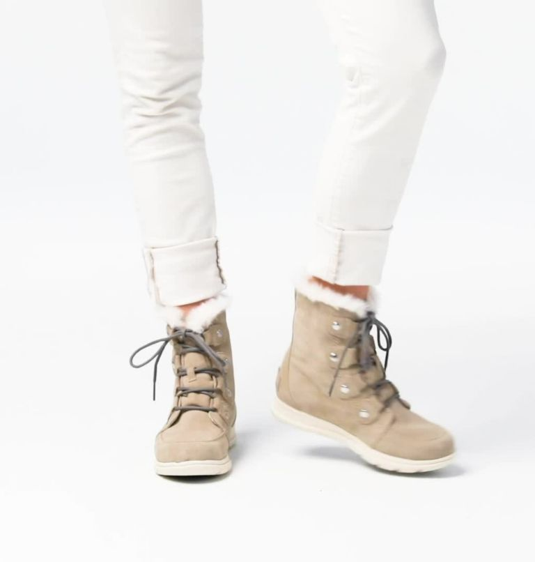 SOREL™ EXPLORER JOAN | 271 | 5 Women's Sorel Explorer™ Joan Boot, Ancient Fossil, video