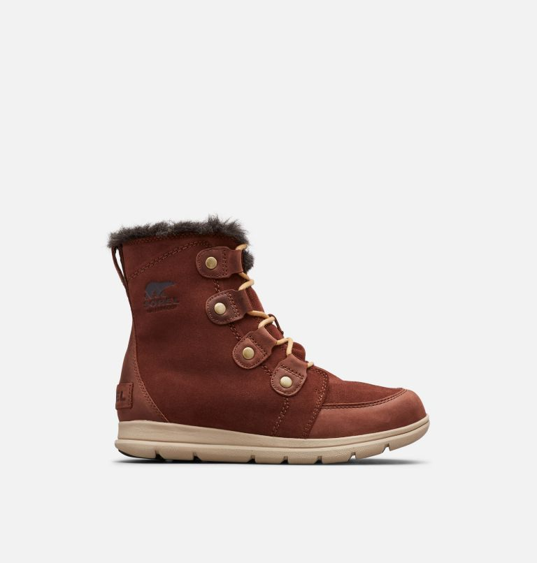 SOREL™ EXPLORER JOAN | 282 | 8 Women's SOREL™ Explorer Joan Boot, Burro, front