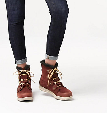 Women's SOREL™ Explorer Joan Boot SOREL™ EXPLORER JOAN | 282 | 11, Burro, video
