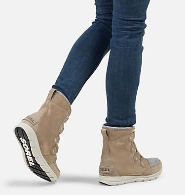 Women's Sorel Explorer™ Joan Boot SOREL™ EXPLORER JOAN | 052 | 10, Khaki II, video