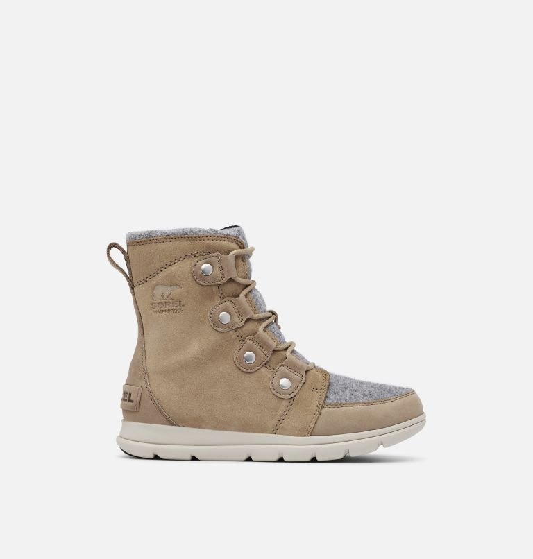 SOREL™ EXPLORER JOAN | 297 | 10 Women's Sorel Explorer™ Joan Boot, Khaki II, front
