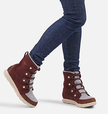 Women's Sorel Explorer™ Joan Boot SOREL™ EXPLORER JOAN | 052 | 10, Redwood, video