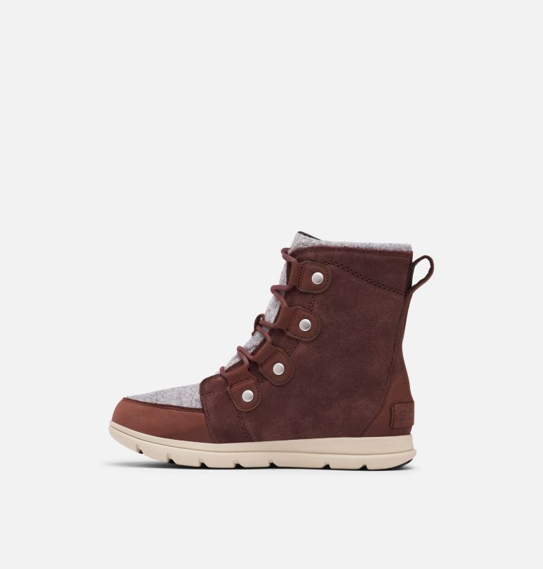SOREL™ EXPLORER JOAN | 628 | 7 Women's Sorel Explorer™ Joan Boot, Redwood, medial