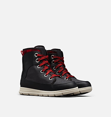Women's Sorel™ Explorer 1964 Boot SOREL™ EXPLORER 1964 | 365 | 7, Black, 3/4 front