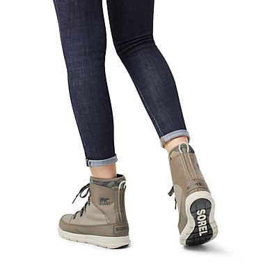 Women's Sorel™ Explorer 1964 Boot SOREL™ EXPLORER 1964 | 365 | 7, Sage, video