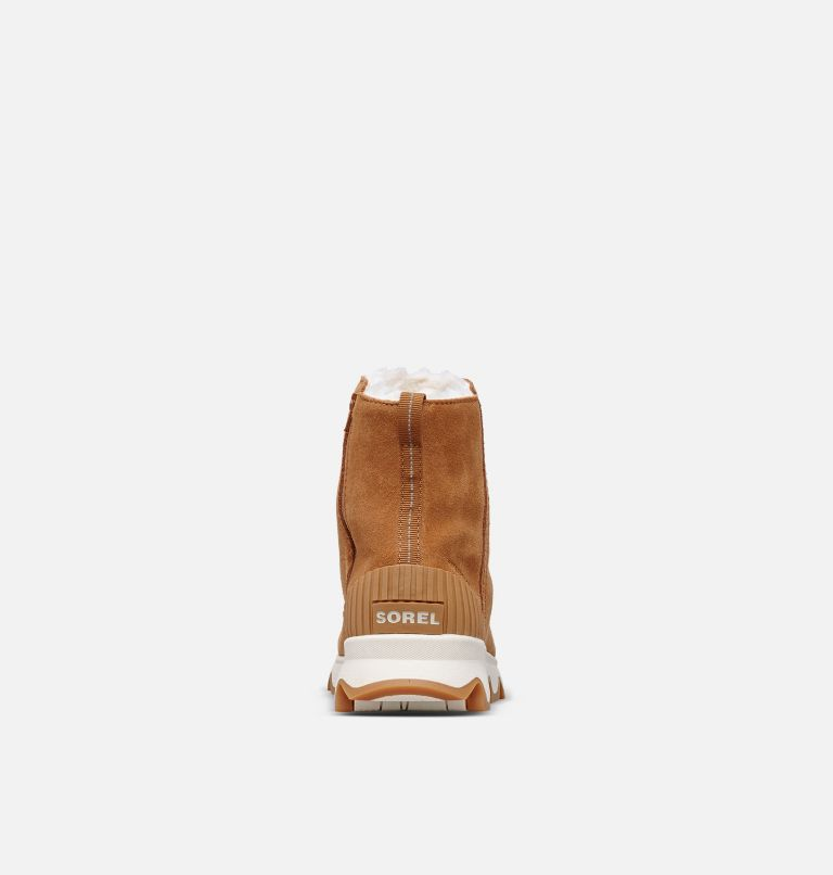 KINETIC™ SHORT | 224 | 8 Women's Kinetic™ Short Boot, Camel Brown, Natural, back