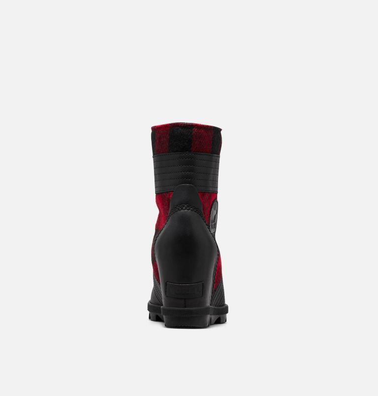LEXIE™ WEDGE | 010 | 5 Women's Lexie™ Wedge Boot, Black, Red Plaid, back