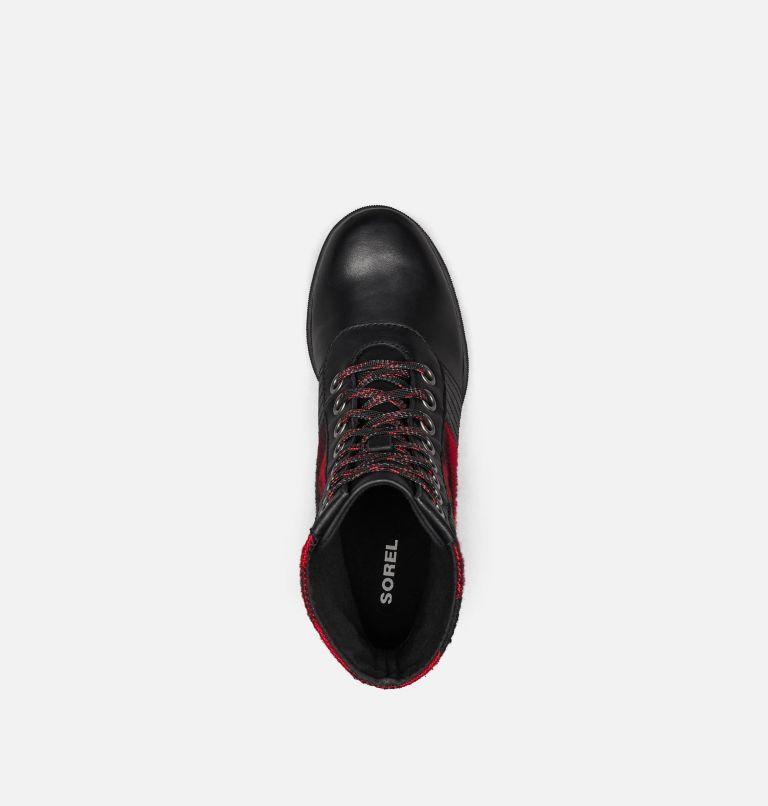 LEXIE™ WEDGE | 010 | 5 Women's Lexie™ Wedge Boot, Black, Red Plaid, top
