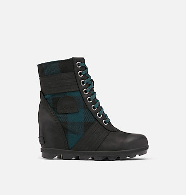 Women's Lexie™ Wedge Boot LEXIE™ WEDGE | 051 | 10, Black, Blue Plaid, front