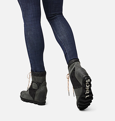 Women's Lexie™ Wedge Boot LEXIE™ WEDGE | 051 | 10, Dark Slate, video