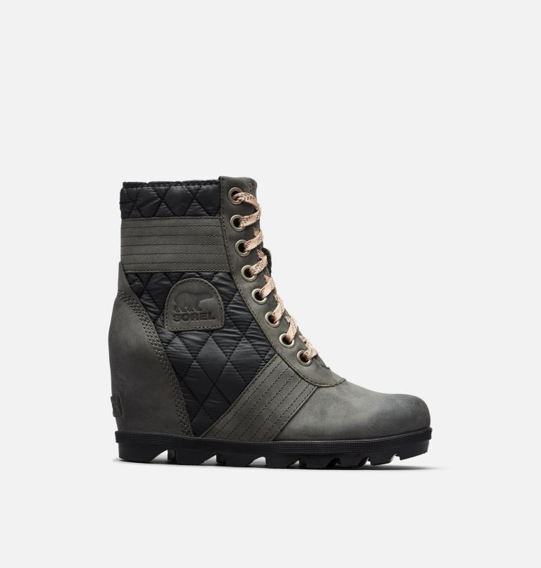 LEXIE™ WEDGE | 026 | 5 Women's Lexie™ Wedge Boot, Dark Slate, front