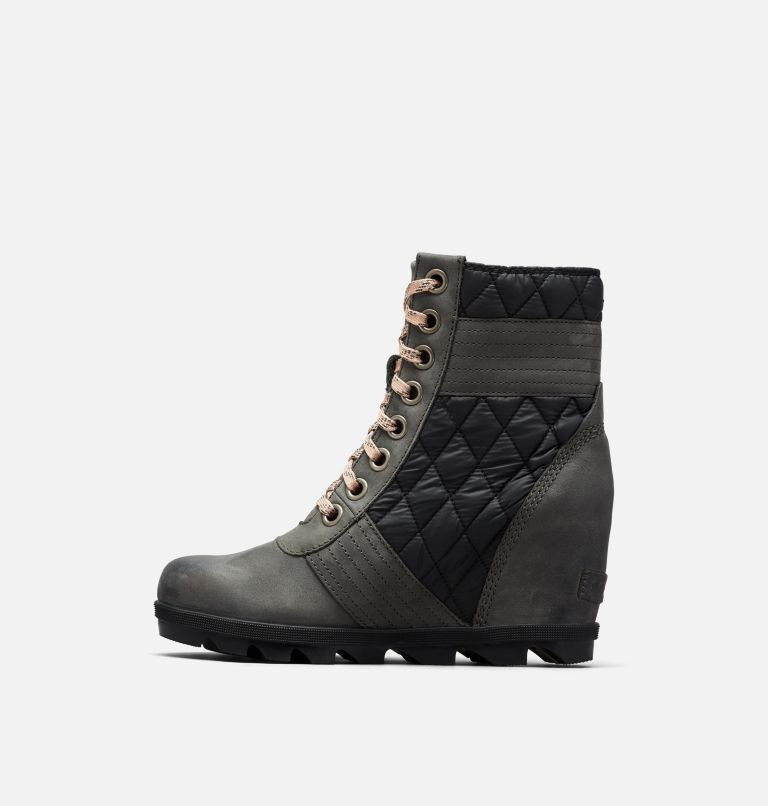 LEXIE™ WEDGE | 026 | 10.5 Women's Lexie™ Wedge Boot, Dark Slate, medial