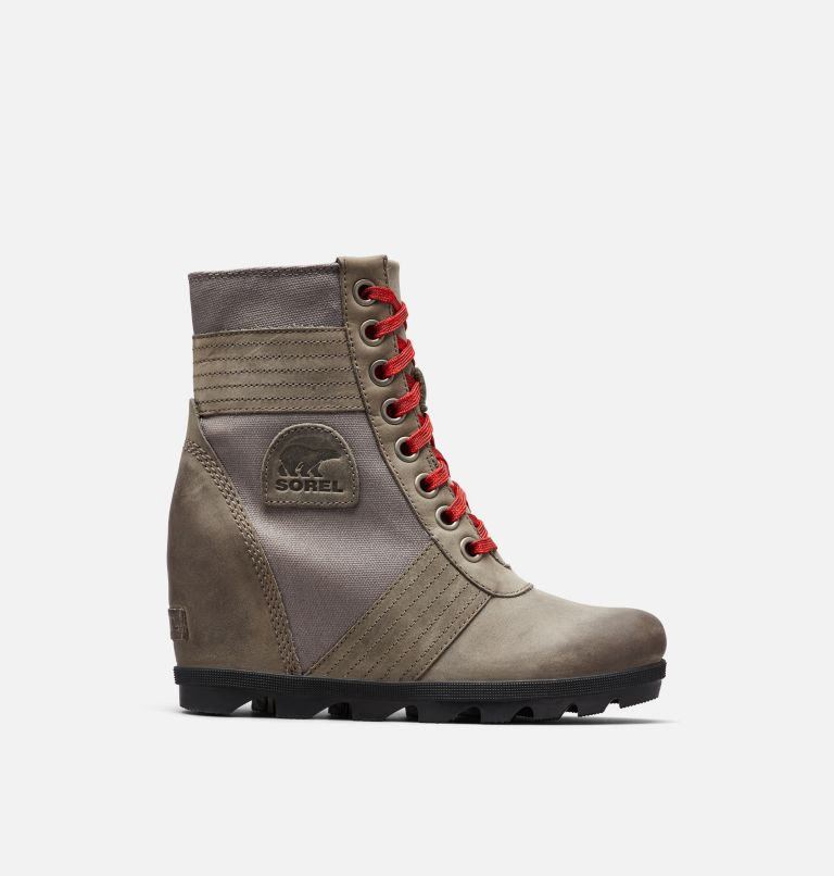 LEXIE™ WEDGE | 051 | 9 Women's Lexie™ Wedge Boot, Quarry, front