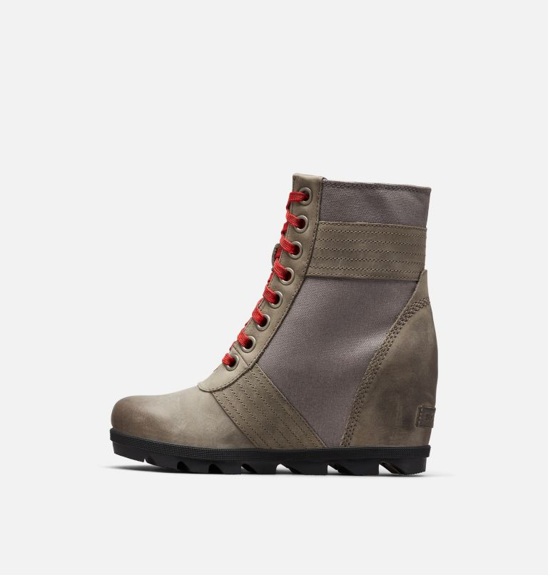 LEXIE™ WEDGE | 051 | 6 Women's Lexie™ Wedge Boot, Quarry, medial