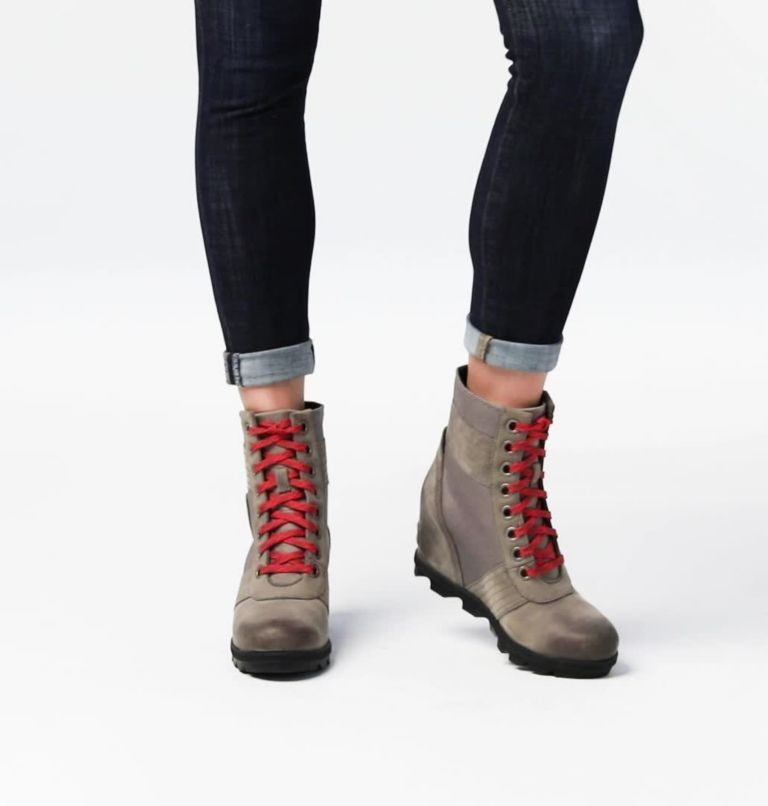 LEXIE™ WEDGE | 051 | 8.5 Women's Lexie™ Wedge Boot, Quarry, video