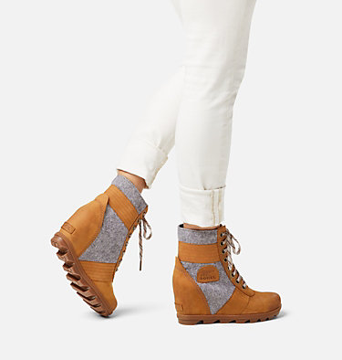 Women's Lexie™ Wedge Boot LEXIE™ WEDGE | 051 | 10, Camel Brown, video