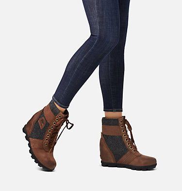 Women's Lexie™ Wedge Boot LEXIE™ WEDGE | 051 | 10, Tobacco, video