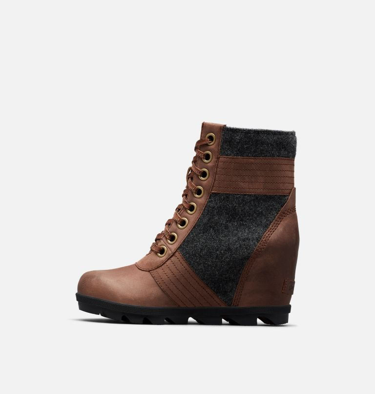 LEXIE™ WEDGE | 256 | 6 Women's Lexie™ Wedge Boot, Tobacco, medial