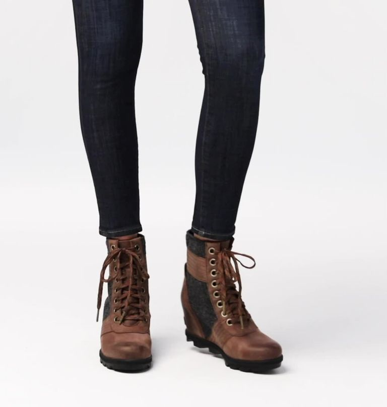 LEXIE™ WEDGE | 256 | 6 Women's Lexie™ Wedge Boot, Tobacco, video
