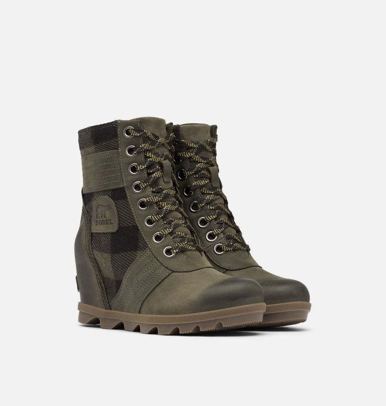 LEXIE™ WEDGE | 326 | 5 Women's Lexie™ Wedge Boot, Alpine Tundra, 3/4 front