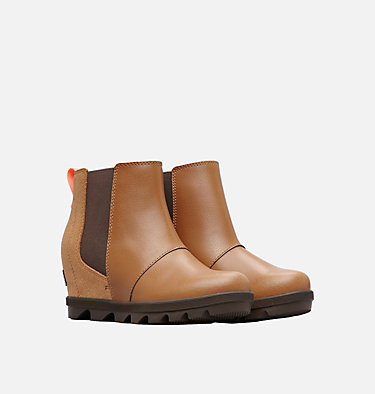 Big Kids' Joan of Arctic™ Wedge II Chelsea Boot  YOUTH JOAN OF ARCTIC™ WEDGE II CHELSEA | 224 | 1, Camel Brown, Cordovan, 3/4 front