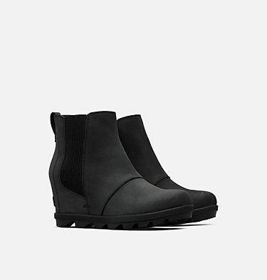 Women's Joan of Arctic™ Wedge II Chelsea Bootie JOAN OF ARCTIC™ WEDGE II CHELSEA | 010 | 10, Black, 3/4 front