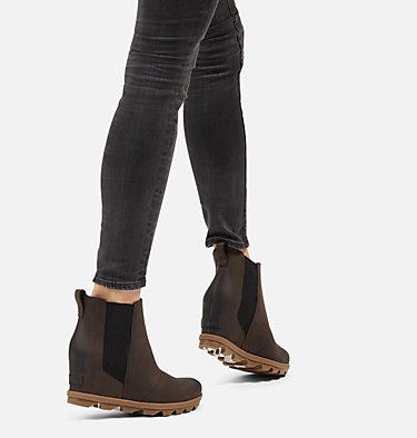 Women's Joan of Arctic™ Wedge II Chelsea Bootie JOAN OF ARCTIC™ WEDGE II CHELSEA | 010 | 10, Blackened Brown, video