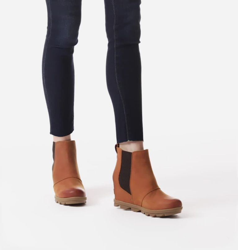 JOAN OF ARCTIC™ WEDGE II CHELSEA | 222 | 10.5 Women's Joan of Arctic™ Wedge II Chelsea Bootie, Iced Tea, video
