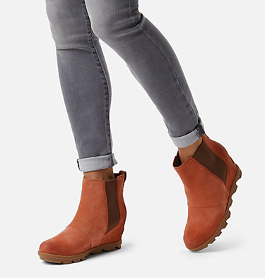 Women's Joan of Arctic™ Wedge II Chelsea Bootie JOAN OF ARCTIC™ WEDGE II CHELSEA | 010 | 10, Teak Brown, video