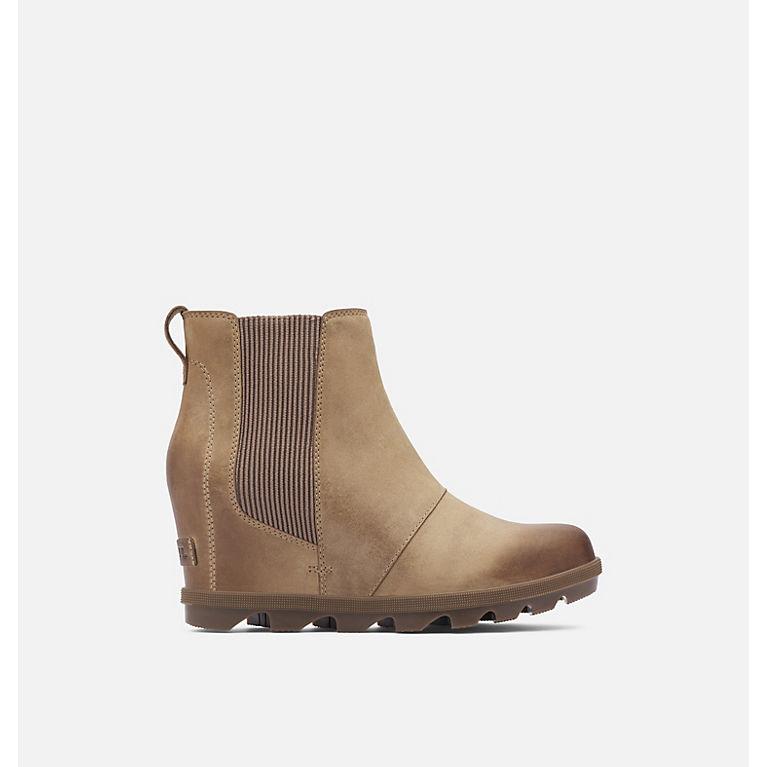 Ash Brown Women's Joan of Arctic™ Wedge II Chelsea Boot, View 0