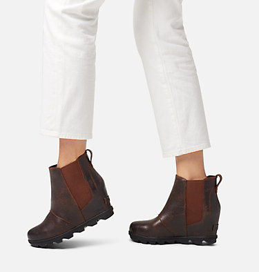 Botte compensée Chelsea en peau de mouton Joan of Arctic™ pour femme JOAN OF ARCTIC™ WEDGE II CHELS | 224 | 6, Burro, video